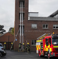 Cadogan Firefighters Drilling (Nick 999) Tags: ireland rescue fire watch crew service ladder 135 northern firefighters appliance commander drill heros lifesavers cadogan nifrs