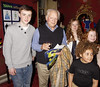 James Forde, David Jason, Maisie Smith, Devon Higgs 'Shrek The Musical' first anniversary performance held at Theatre Royal - Inside London, England