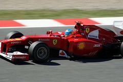 Fernando Alonso FERRARI F2012 056        Formula 1 Day 1 Free practice  GP F1 2012 Spain Circuit de Catalunya  Barcelona   DSC03962e (antarc foto) Tags: barcelona españa f1 ferrari catalonia grandprix formulaone fernando catalunya friday circuit formula1 alonso cataluña gp barcelone 2012 montmelo circuitdecatalunya divendres 056 f2012