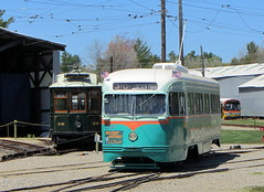 DC Transit PCC streetcar (Sean_Marshall) Tags: museum washington trolley maine kennebunkport streetcar pcc seashoretrolleymuseum dctransit