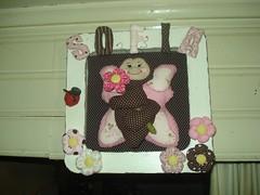 Quadrinho porta maternidade (tatiane_zoo) Tags: bebê patchwork