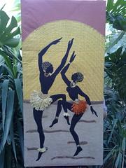 applique wall decor art (art art art and me) Tags: art wall dancing sewing iraq sew canvas baghdad decor applique العراق لوحة ديكور رقص فن بغداد خياطة dhuha ضحى تنزيل الكاتب