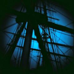 Cutty Sark, Greenwich (nick richards art) Tags: 120 thames boats ship 120film diana coastal cuttysark analogue dianaf rigging clipper analoguephotography
