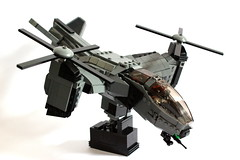 Serpent Gunship (Andreas) Tags: lego aircraft vtol gunship legovtol legogunship vtolgunship thepurgeeu stealthgunship eugunship euvtol stealthtiltrotor