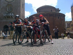 four girls (briiblog) Tags: friends tour mantova peschiera 92km borghettobikes