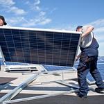 Installation einer Photovoltaikanlage