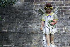 Lost Child (Twistedreload) Tags: cemeteries art cemetery victorian angels