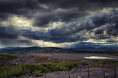 Y se viene la lluvia ~ Smells rain (Bogaugon) Tags: mountain storm rain clouds lluvia nubes tormenta andes montaa precordillera photographyforrecreation