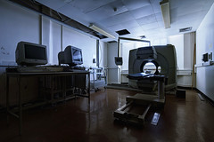 Rendering (Subversive Photography) Tags: shadow abandoned architecture hospital decay interior military curves navy atmosphere scan urbanexploration subversive grading derelict mri