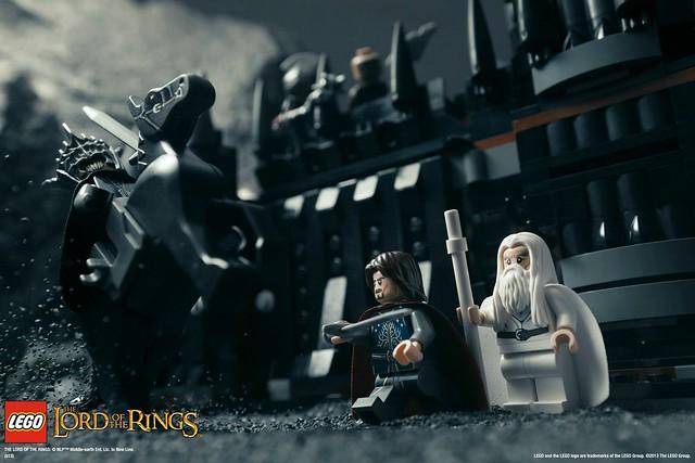 超推坑!LEGO「魔戒」系列新品宣傳圖