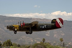 "B-24J Liberator ""Witchcraft"" (TomcatPhotography1) Tags: wwii worldwarii warbirds witchcraft collingsfoundation b24j b24jliberator"