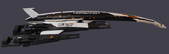 Normandy SR2 (Benny Brickster) Tags: man lego reaper mass effect normandy shepard mako cerberus