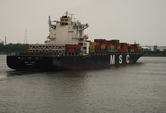 MSC Lisa (larry_antwerp) Tags: haven port ship belgium vessel terminal container antwerp schip mediterraneanshipping 9281279
