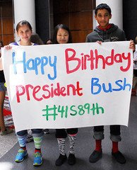 20130612_LPGB_JJ_011 (Bush 41 Library) Tags: socks georgebush happybirthday collegestation texasam tamu crazysocks presidentiallibraryandmuseum bushbirthday 41s89th