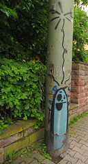 Pling-Ghost (universaldilletant) Tags: graffiti frankfurt spot ghosts rmc cityghost cityghosts