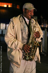 Darryl R. Johnson (Douglas Bawden Photography) Tags: sanfrancisco california nightphotography musician northerncalifornia nightshot jazz swing fishermanswharf sfbayarea bebop fullframe saxophone charlieparker canoncamera streetshooting canonef24105mmf4lisusm iso12800 canoneos6d