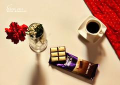 قهوة (şαpиα ●) Tags: ورده قهوة كانون شوكلاته