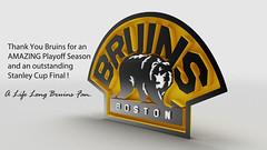 Thank You Boston Bruins