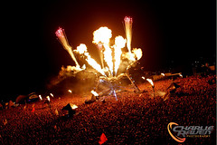 Arcadia Spectacular - Glastonbury 2013 (charlie raven) Tags: music festival canon fire photography dj photographer fireworks live crowd glastonbury gas edm glasto arcadia plur plurlife arcadiaspectacular charlieraven