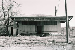 The End of Commerce (jmhouse) Tags: blackandwhite newmexico route66 ghosttown montoya abandonment ruraldecay richardsonsstore