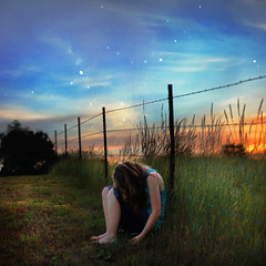 Fix You (MadelineGibson) Tags: sunset self fence stars fixyou madelinegibson
