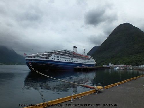 Marco Polo in Andalsnes (2)