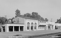 Santa Fe Depot, Fullerton (Orange County Archives) Tags: california history rail transportation depot historical southerncalifornia orangecounty santaferailroad orangecountyarchives orangecountyhistory