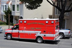 Fire Medic (adelaidefire) Tags: county ford fire marin southern medic department
