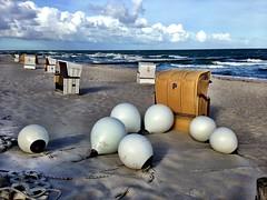 baltic sea sunrise (Schnella Schnyder) Tags: balticsea ostsee iphone