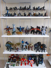 Kaiju, LEGO (WEBmikey) Tags: toys lego toymuseum kaiju bandai revoltech