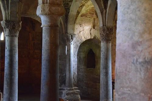 Memleben (Saxe-Anhalt), crypte de l'abbatiale - 32
