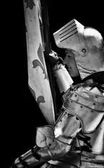 puy du fou - le secret de la lance (HDRvision) Tags: blackandwhite noiretblanc spectacle jeannedarc puydufou chevalerie lesecretdelalance