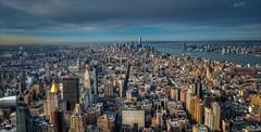 Manhattan Panorama (W.MAURER foto) Tags: city nyc newyorkcity travel usa newyork skyline skyscraper unitedstatesofamerica empirestatebuilding tamron hdr wolkenkratzer travelphotography photomatix reisefotografie newyorkpanorama manhattanpanorama hdrpanorama newyorkhdr nikond800 tamron1530mmf28