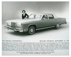 1977 Lincoln Continental Williamsburg Town Car (biglinc71) Tags: car town continental lincoln williamsburg 1977