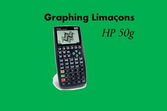 Limacons - Blog & Video for HP 50g (Bits4Bots LLC) Tags: calculator graphing hp50g limacons