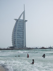 Burj Al Arab and Kite beach.