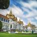 Royal grand palace in Bangkok