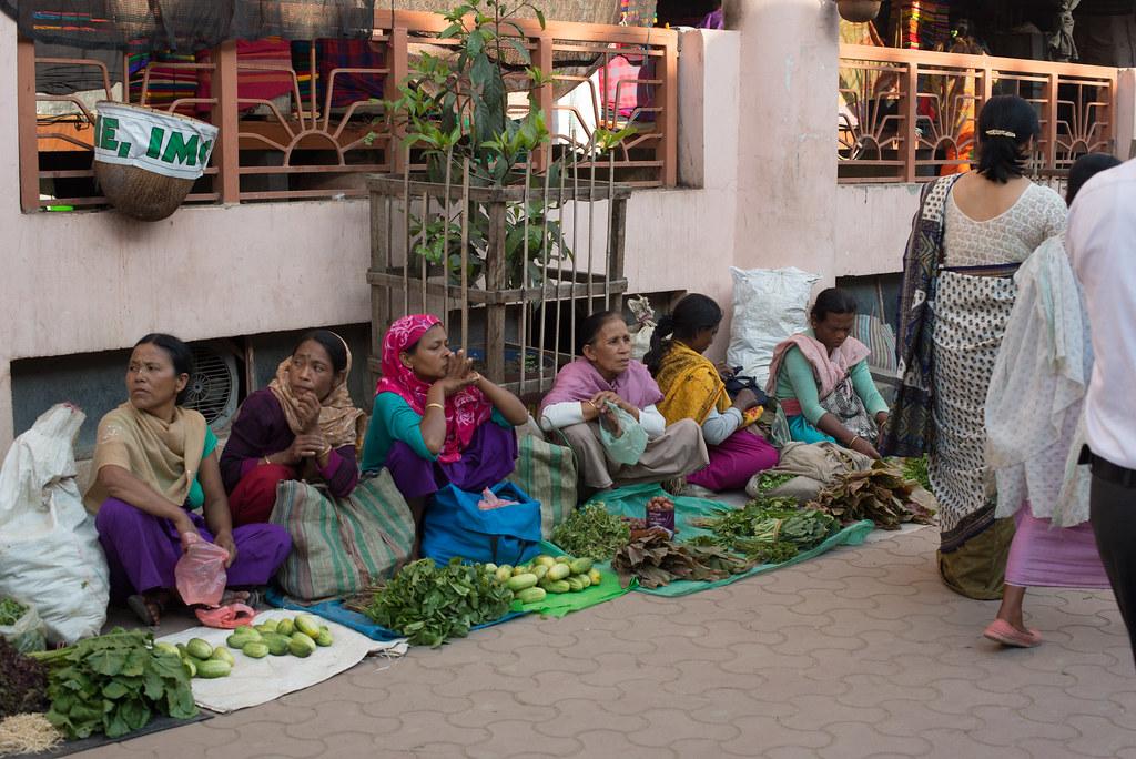 Lady vendors