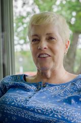 Grandma (Gerald Cuffe) Tags: old grandma portrait woman lady lens 50mm nikon grandmother mother headshot age e series aged 18 grams d7k d7000