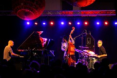 Shai Maestro Trio 7467-4_8839 (Co Broerse) Tags: music composedmusic contemporarymusic jazz jazzfest jazzfestamsterdam amsterdam 2016 studiok cobroerse shaimaestrotrio shaimaestro piano frontman joesanders doublebass zivravitz drums percussion