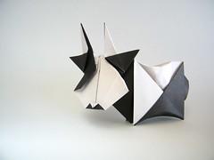 Cow - Tsuruta Yoshimasa (Rui.Roda) Tags: origami papiroflexia papierfalten vaca vache cow tsuruta yoshimasa