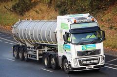 VOLVO FH - KEENAN Turriff Aberdeenshire (scotrailm 63A) Tags: lorries trucks tankers