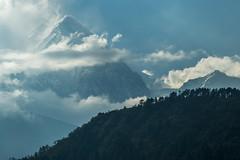 High Winds on Dhaulagiri I (Stewart Miller Photography) Tags: dhaulagiri nepal highest mountain winds hurricane
