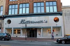Butterworth's (jschumacher) Tags: virginia petersburg petersburgvirginia storefront