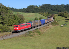 DB Cargo 151 046, Mittelrot 29.09.2016 (Trainspotting-Wiki) Tags: db cargo 151 046 mittelrot ingolstadt neckarsulm audi