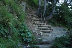direction Fentre d'Arpette (bulbocode909) Tags: valais suisse trient forts nature montagnes escaliers vert