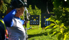 Irene Franchini - Team Italia (Owen J Fitzpatrick) Tags: ojf people photography nikon fitzpatrick owen j joe pretty pavement chasing d3100 ireland editorial use only ojfitzpatrick eire dublin republic city tamron unposed social face candid candidphotography candidphoto natural archer archery kit bow compound sport world championship field competition nations international curved killruddery house garden estate team beauty beautiful attractive female woman franchini italy italia flexis irene target roundel bowhunter sifa ifaf championships 2016 bowhunting