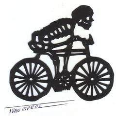esqueleto paper cut (ivanutrera) Tags: calavera calaca paper papercutting papel papercut skeleton esqueleto