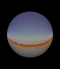 Slide The Sky Big Dipper (mazzmn) Tags: abstract circle bigdipper horizon hss stars lake nightshot