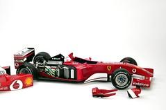 Ferrari F1 2001, Tamiya (aliilhanak) Tags: sb700 nikond90 ferrari formula1 tamiya